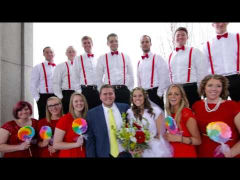 Jeff & Ashley | Utah Temple Wedding Highlight // Reign Media
