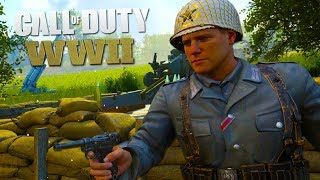 COD WW2 Funny Moments - Sabotaging Teammates! (Hide & Seek)