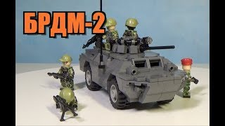 обзор военной машины лего