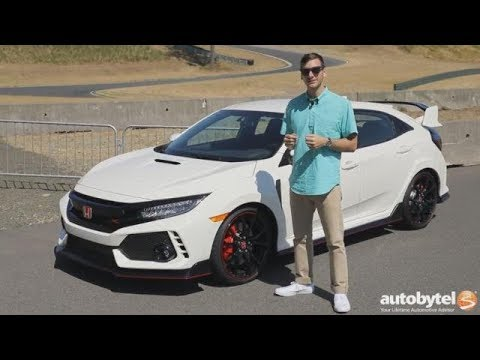 2017 Honda Civic Type R Touring Test Drive Video Review