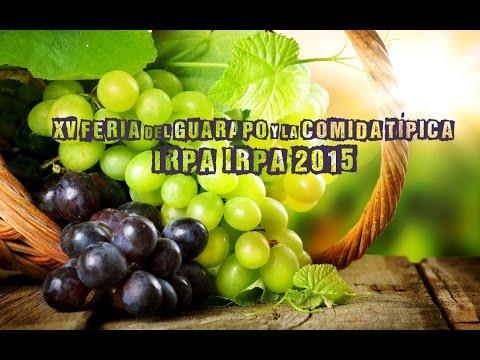 XV FERIA DEL GUARAPO Y LA COMIDA TÍPICA IRPA IRPEÑA 2015