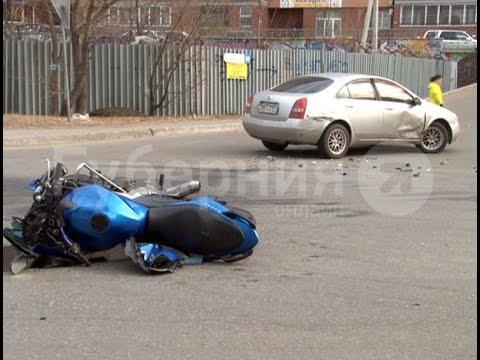 Батюшка сбил мотоциклиста в Индустриальном районе Хабаровска. MestoproTV