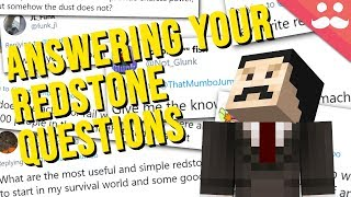 Answering your Redstone Questions