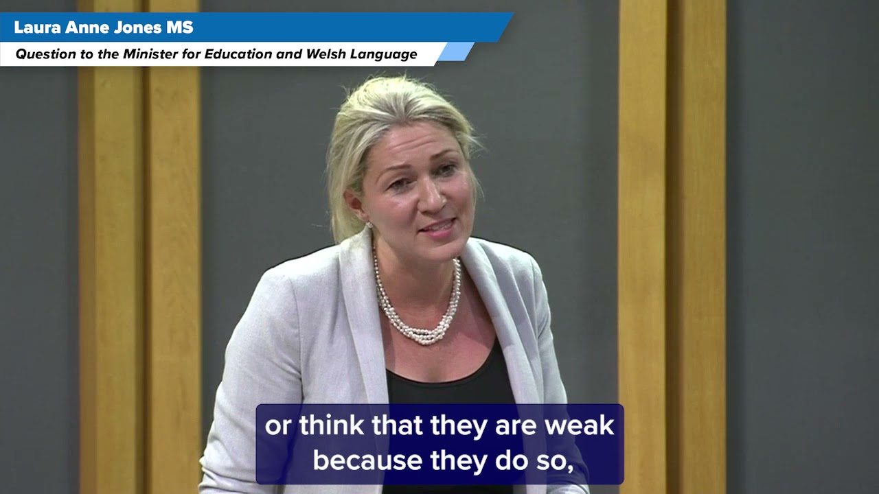 Questioning the Education Minister about Mental Health Support in Schools
