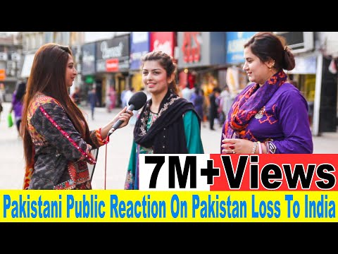 Angry Pakistani Public Reaction on Pakistan loss to India | Pakistan vs India