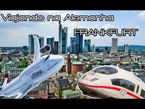 Viajando na Alemanha - 3 dias de viagem por Frankfurt e Suite Master sem dinheiro