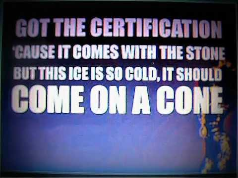 Nicki Minaj ''Come On a Cone'' (Karaoke/Instrumental + Lyrics on screen)