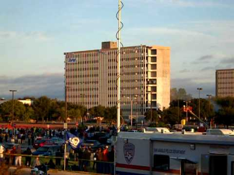 Superior Dormitory Implosion At ASU   Angelo State University   Oct 25, 2009 Part 32