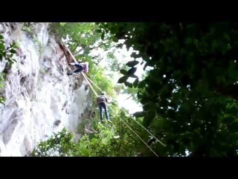Black Hole Drop 300 foot Rappel - Ian Anderson's Caves Branch, Belize