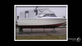 Bertram yacht bertram 28 power boat, motor yacht year - 1973