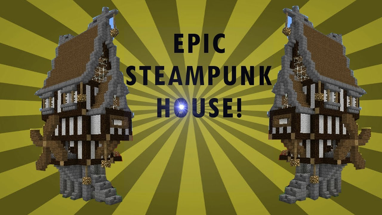 Minecraft Steampunk House Hot Trending Now
