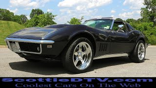 1968 Chevrolet Corvette 427 Big Block Steve Holcomb Pro Auto Custom Interiors