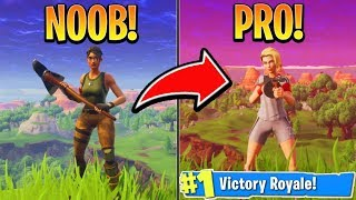 How to go from NOOB to PRO in FORTNITE! How to get better at Fortnite! (Fortnite Tips and Tricks)