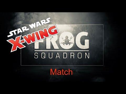 Match Frog Squadron X-Wing Miniatures de Québec | M. Beaumont Gadoury vs S. Mclean | 10 nov. 2017