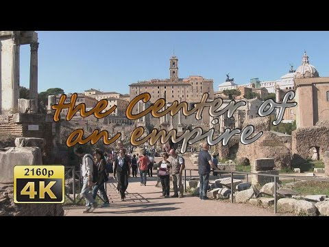 Rome, Palatine and Roman Forum - Italy 4K Travel Channel