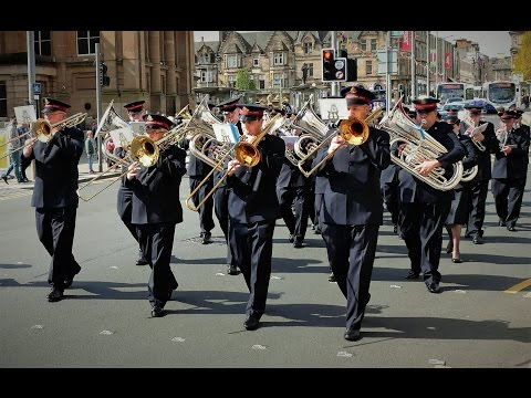 Paisley Salvation Army - March of Witness