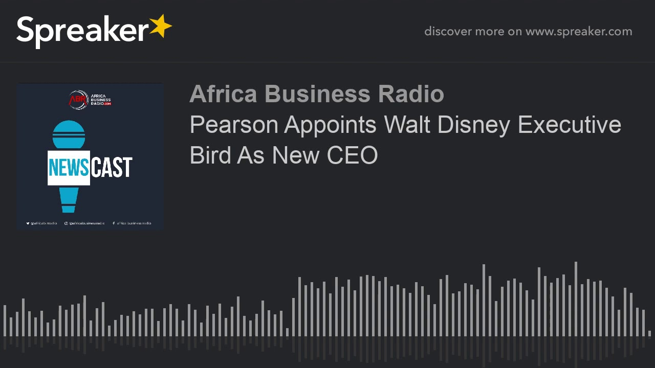 Pearson Appoints New CEO
