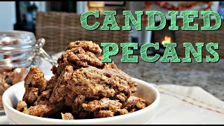 Easy Candied Pecans Recipe   Sweet Spiced Candied Pecans   Simply Mama Cooks