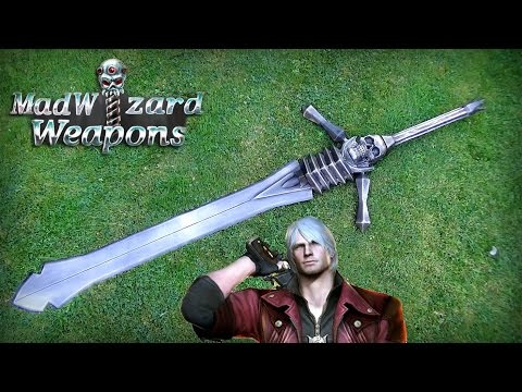 MadWizard Weapons - Dante's Rebellion Sword ( Devil May Cry )