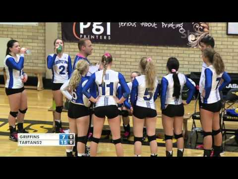 Mustang Volley 2015 Girls Final On Shaw TV
