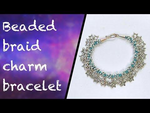 How to make a kumihimo charm bracelet