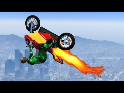 Thumbnail: FASTEST BIKE IN THE WORLD!? (GTA 5 Funny Moments)