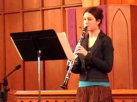 Mozart clarinet solo