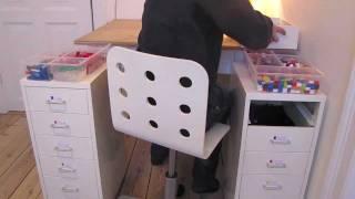 Lego Room Tour / How I sort my Lego (2012)