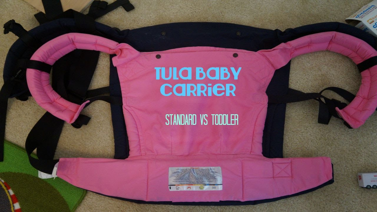 Tula Baby Carrier: Standard vs Toddler