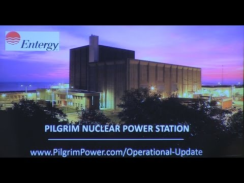 Pilgrim Nuclear Power Plant Closure Press Announcement- October 13, 2015 - PACTV