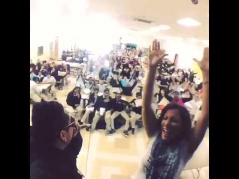 Career day at Nicholas Orem Middle School Patricia De Lima