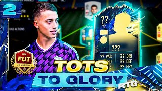 THIS CHEAP TOTS IS SENSATIONAL!! TOTS TO GLORY RTG EP2 | FIFA 21 ULTIMATE TEAM