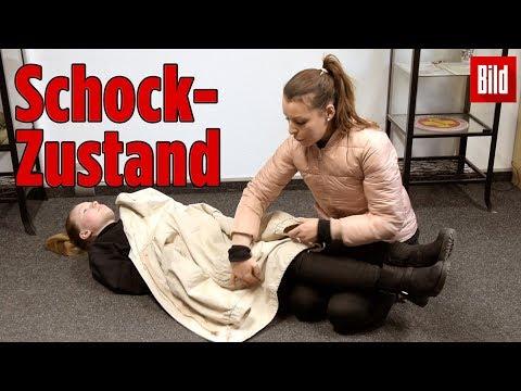 So hilfst du einem Menschen im Schock-Zustand