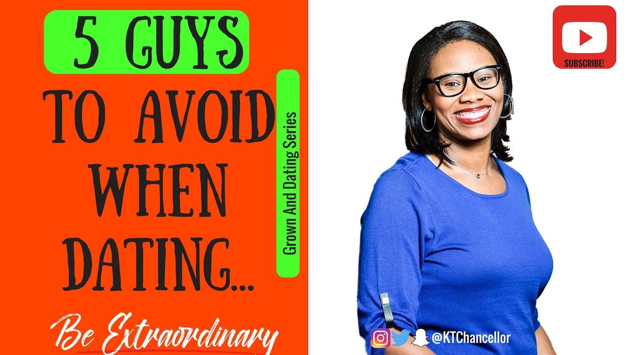 5 guys to avoid dating