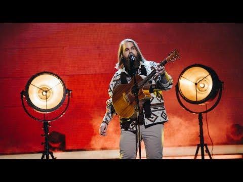 Chris Kläfford sjunger I will wait i Idol 2017 - Idol Sverige (TV4)