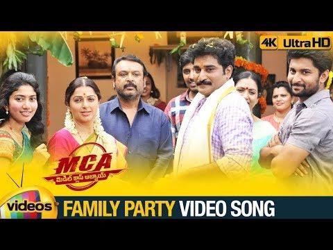 MCA Full Video Songs 4K | Family Party...