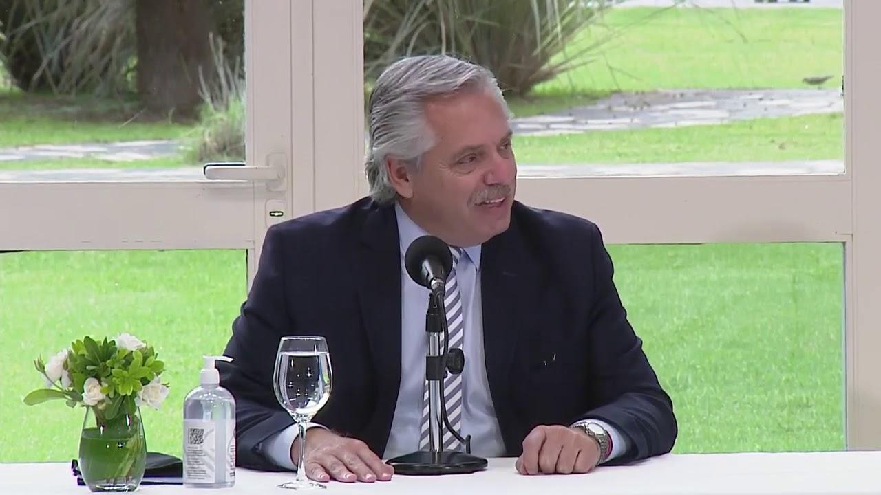 Palabras del presidente Alberto Fernández en el cierre del Consejo Federal de Educación