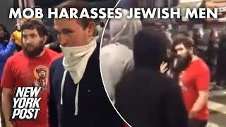 BLM mob violently chases Jewish men showing 'solidarity' at Philadelphia protest | New York Post