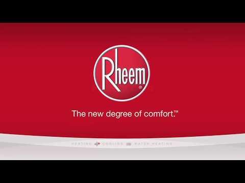 Installing a Rheem Prestige Series Condensing Tankless Water Heater