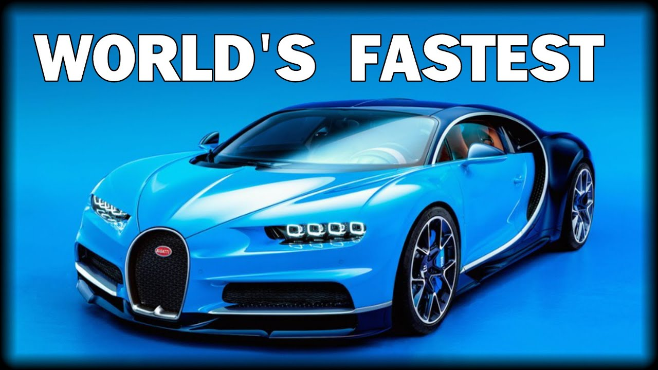 FASTEST CAR IN THE WORLD UNVEILED: THE BUGATTI CHIRON   YouTube