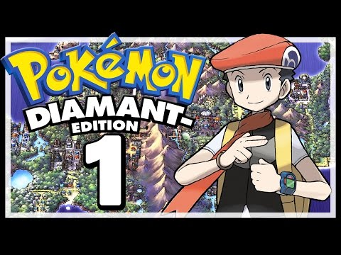 POKÉMON DIAMANT # 01 💎 Willkommen in der Sinnoh-Region! [HD60] Let's Play Pokémon Diamant