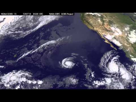 Satellite Sees 3 Tropical Cyclones