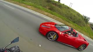 Rachinha com Ferrari 458 Spider Xj6 Eric99