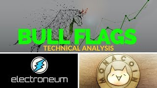 Electroneum & MonaCoin: 2 Potential Bull Flag Setups - Technical Analysis