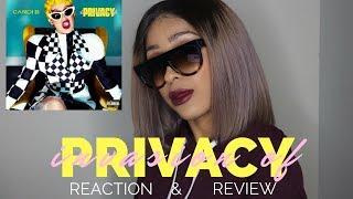 CARDI B - INVASION OF PRIVACY (FULL ALBUM) REACTION