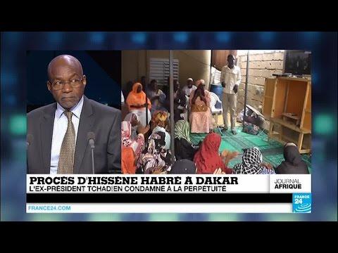 Verdict historique à Dakar : Hissène Habré, l