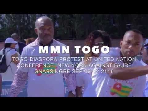 MMN TOGO PROTESTATION IN NEW YORK