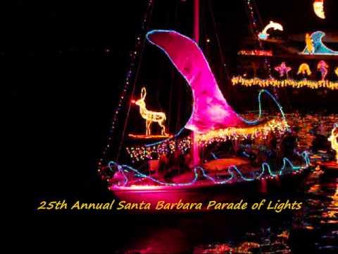 santa barbara lighting hanging lantern the kazu time show2010 santa barbara parade of lights youtube