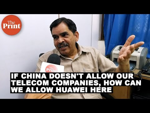 If China doesn't allow our telecom companies, how can we allow Huawei here: Swadeshi Jagran Manch