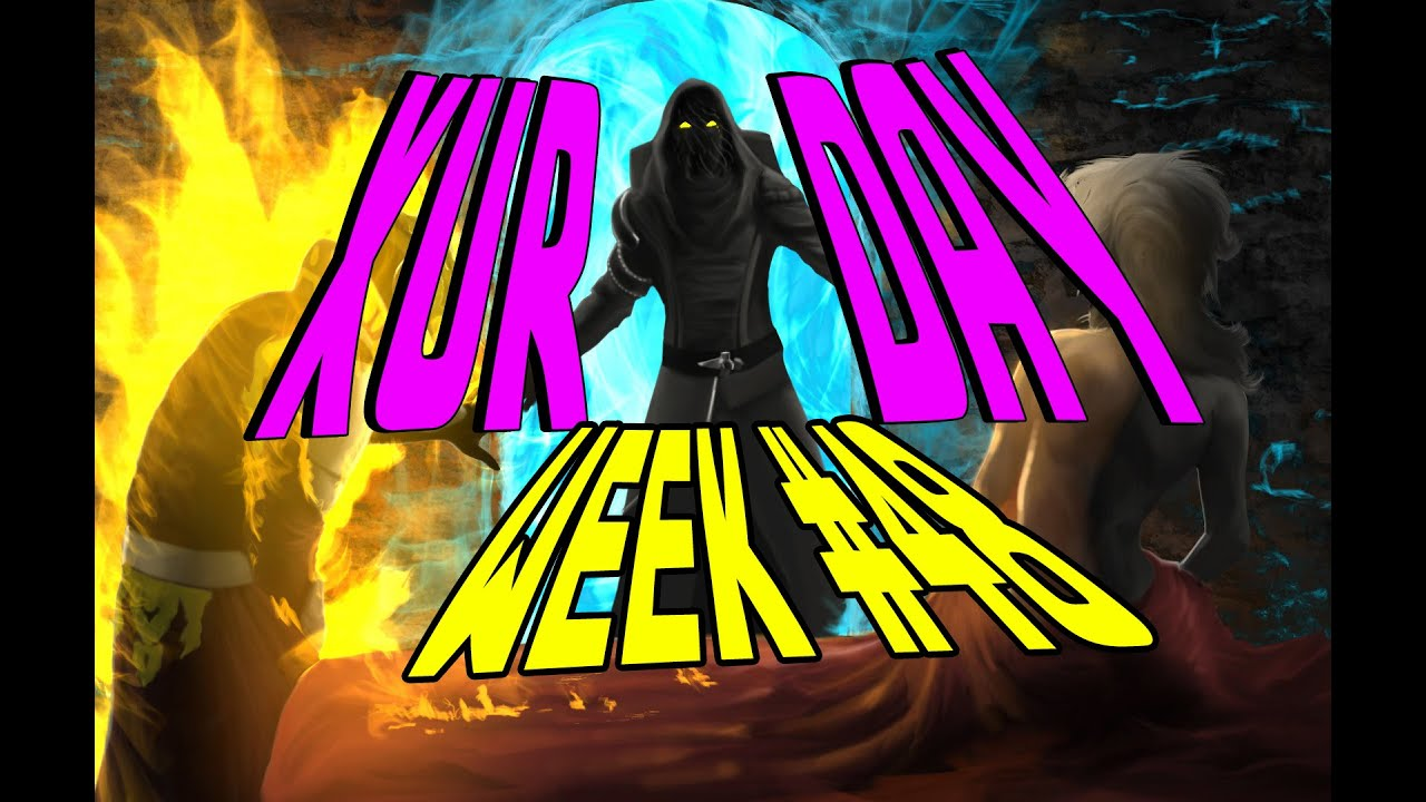 Destiny xur day week 48 loot amp review youtube